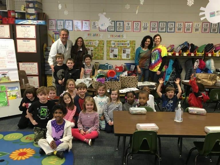 Dr. Good Visits Reeser's Rescuers School Club