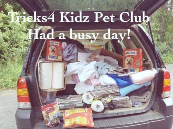 Tricks4 Kidz Pet Club Donates