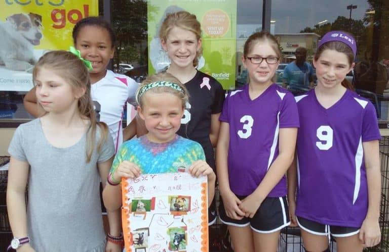Girl Scouts Make Treats