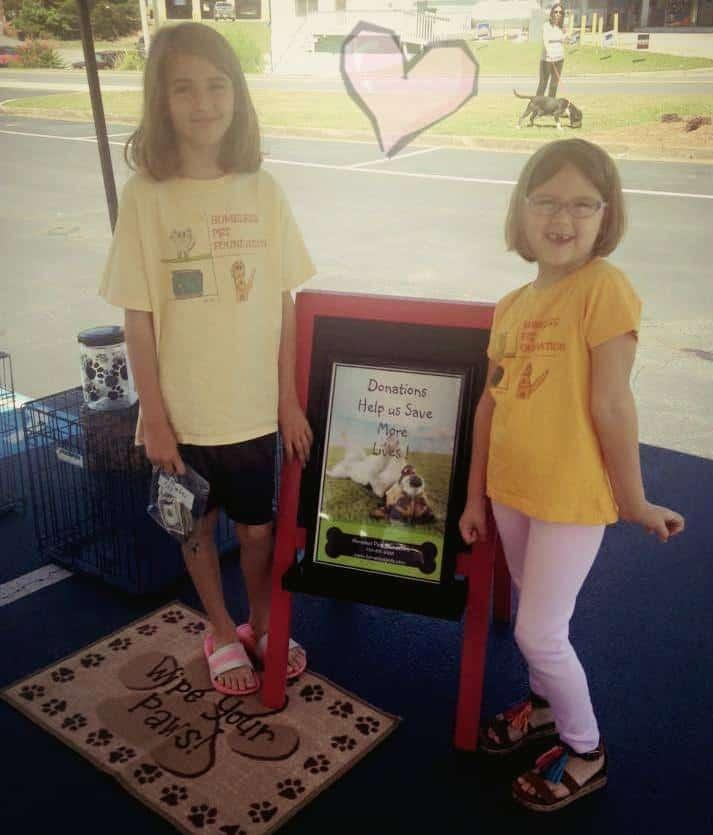 Sweet Girls Raise Money With Lemonade Stand