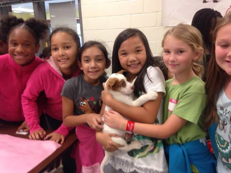 Dr. Good Visits Cheatham Hill's Pet Club Meeting