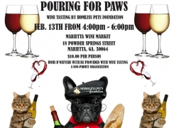 2/13 – Pouring for Paws